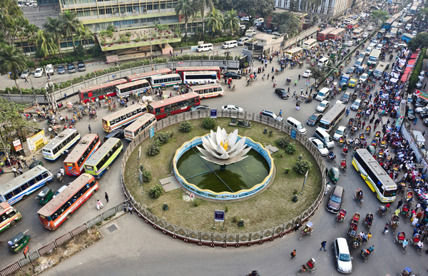 Urbanization is the process of making an area more urban. It is unavoidable for a developing city like Dhaka. As the part of urbanization currently Dhaka city is going through some critical phase. Different projects like Metro rail, Flyover and different types of constructions making the life of the people in Dhaka city more difficult.