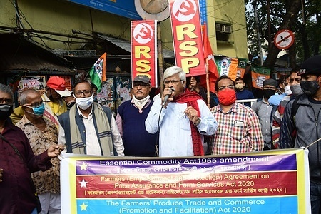 """Agitating farmer unions have called for a """"Bharat Bandh"""" protest which has been backed by over 15 opposition parties and several trade unions."""