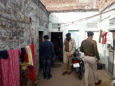 A vegetable vendor commits suicide after murdered his wife and two children due to financial problems at Vaishali Nagar in Jaipur. Police has started investigation into the case.