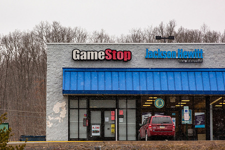 GameStop's share price reached a new record high on January 22, 2021 fueled by changes to its board of directors and a Reddit campaign against short sellers.