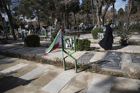 The grave of the martyrs of the islamic revolution of Iran .  Ayatollah Khomeini returned to Iran from France on February 1, 1979 to lead the Iranian Islamic Revolution.  The Islamic Revolution of Iran victory on February 11, 1979.  Every year, from February 1 to February 11, the Iranian government holds ceremonies to mark the anniversary of the victory of the islamic revolution. Iran celebrates the 42nd anniversary of the Islamic Revolution, starting Sunday, 31 january.