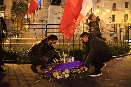 In conjunction with the Day of Remembrance established by law 30 March 2004 n. 92, at 17.30 at Piazza Vittorio Veneto in front of the station of Salerno there was a moment of meditation and prayer in memory of the martyrs of the foibe and the exiles of Rijeka, Istrian and Dalmatian organized by the Committee 10 February together with the realities militant and associative provincial, including Identity of People and Salerno Identitaria. It paid tribute to the thousands of victims and the 350,000 exiles who suffered the effects of the ethnic cleansing of the communist partisans led by Marshal Tito in areas historically inhabited by the majority of Italian language and traditions. During the event was laid a wreath of flowers in memory of one of the major crimes perpetrated during the twentieth century. The national anthem was also sung. There was a large number of young people present, including relatives of victims of the foibe.