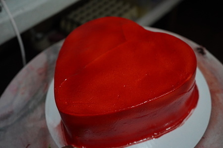 Hundreds of heart-shaped cakes are in-demand at Jade's Cake and Pastry  in Bongao, Tawi-Tawi-Tawi during Valentine's Day celebration. 50% of the profit from selling cake goes to the free education of less fortunate Bajau kids.