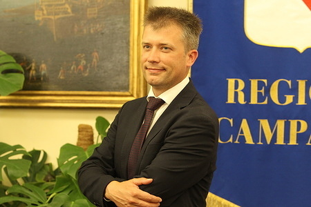 German archaeologist Gabriel Zuchtriegel, 39, the new director of the Pompeii Archaeological Park.