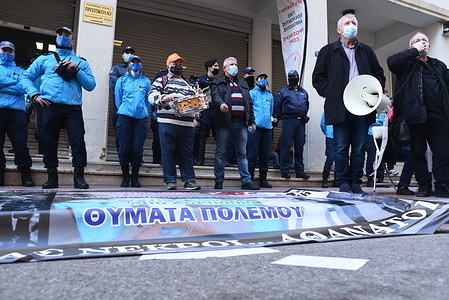 Federation of Associations of Hospital Doctors of Greece strike for Tuesday outside of the Greek Ministry of Health.