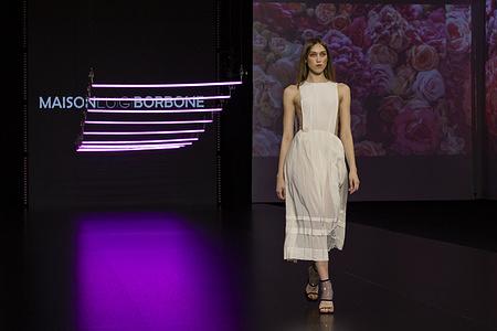 Maison Luigi Borbone catwalk show during the AltaRoma AltaModa fashion week in Rome.