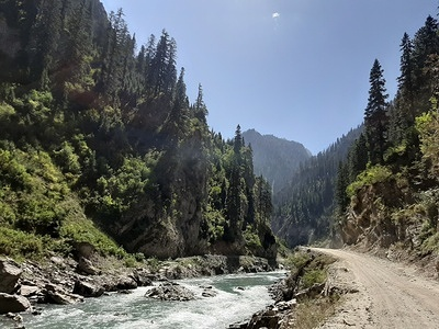 """Kashmir valley, which is also known as the crown of india has hidden treasures for the people who love travelling. A scenic view of """"Gurez valley""""  in Indian side of Kashmir throw's a mesmerising view to travel lover's. Though from past few decades Kashmir has always been in a limelight for it's armed force struggle. But other side of the valley is quite attractive where nature lover's consider it a """"Second home""""."""
