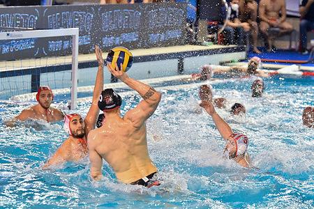 LEN Champions League Olympiacos Piraeus vs Spandau 04 Berlin.