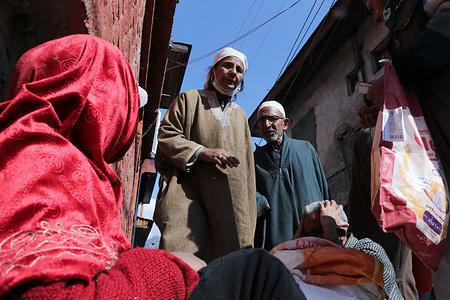 SRINAGAR, INDIA, 5 March 2021 - A general view of Friday flea market at Hazratbal located in Srinagar, Jammu and Kashmir.