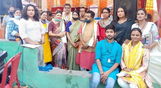 A Blood Donation Camp at Kolkata on 7th march 2021 by Kolkata Rista A Transgender based Community NGO.